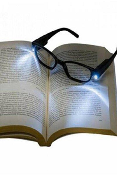 Hunter Siyah Led Işıklı Kitap Okuma Gözlüğü
