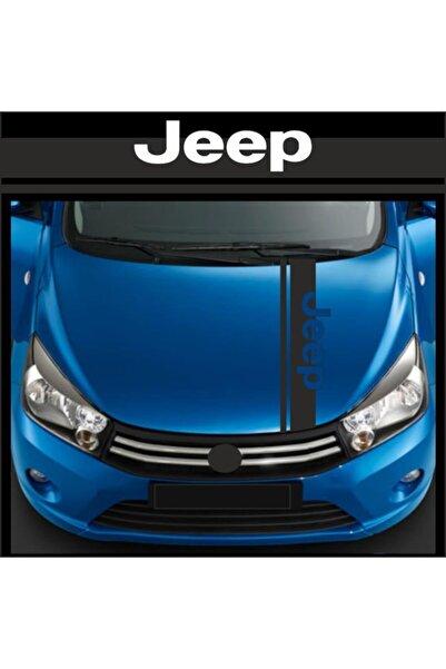 Jeep Style Kaput Oto Sticker