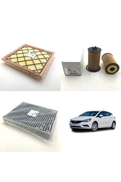 GM Opel Astra J 1.6 16v - 1.4 16v (2009 Ve Sonrası) Filtre Bakım Seti