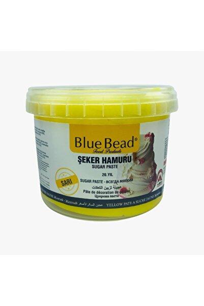 Blue Bead Sarı Şeker Hamuru 1 Kg