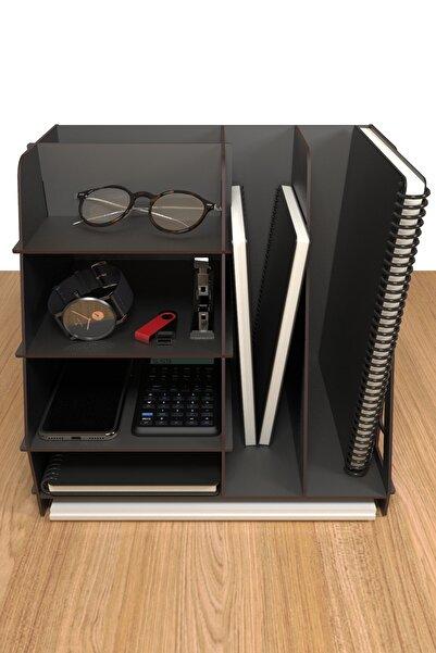 KUK Design Voroni Ofis Masaüstü Organizer Düzenleyici A4 Evrak Rafı