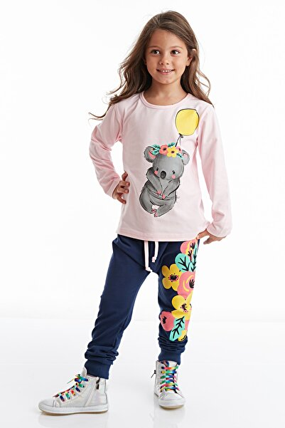 Mushi Balonlu Koala Kız Pantolon Takım