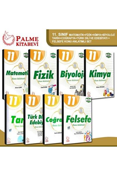 Palme Yayınevi 11. Sınıf Tüm Dersler Konu Anlatımlı Set