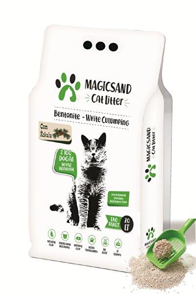 magicsand Cat Litter Çam Kokulu Kedi Kumu 20 Lt Ince Tane