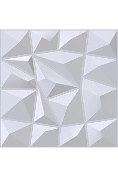 3D Boyanabilir Duvar Paneli, Prestij Deseni, Dayanıklı Plastik, 1 Adet = 12 Panel 3 M2