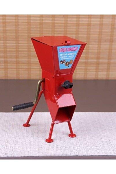 Bastonlu Kollu Fındık Ve Ceviz Kırma Makinesi Mor