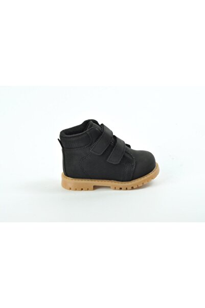 Ayakkabin11 Yeni Sezon Ortopedik Cırtlı Rahat Hafif Kullanışlı Günlük Bebe Bot Siyah Renk