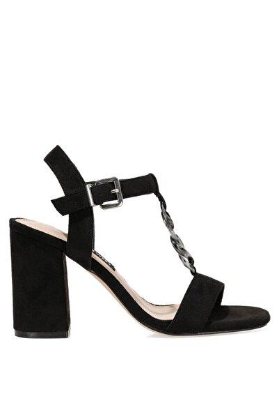 Nine West LOYAL 1FX Siyah Kadın Sandalet 101008421