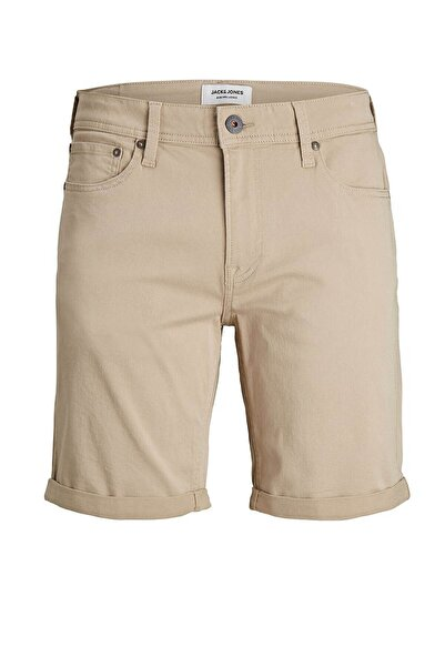 Jack & Jones Erkek Bej Şort Rıck Orıgınal Akm Shorts 12182552