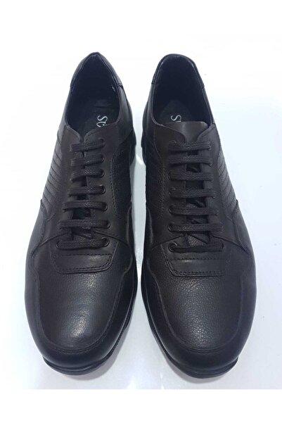 SÜVARİ Erkek Siyah Casual Spor Ayakkabı