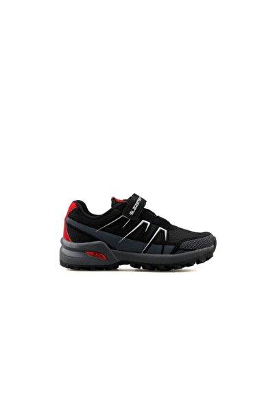 Slazenger Adıtya Sneaker Çocuk Ayakkabı Siyah / K.gri Sa11lf040