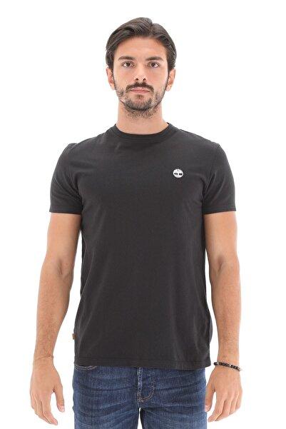 Timberland SS DUNSTAN RIVER JERSEY C Siyah Erkek T-Shirt 101096702