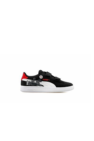 Puma Smash V2 Lil Çocuk Günlük Ayakkabı 38090402 Siyah