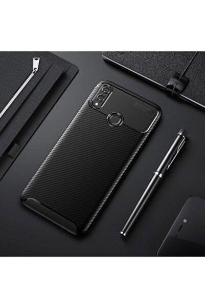Huawei Aqua Honor 8x Kılıf Özel Karbon Tasarım Lüks Silikon Kapak