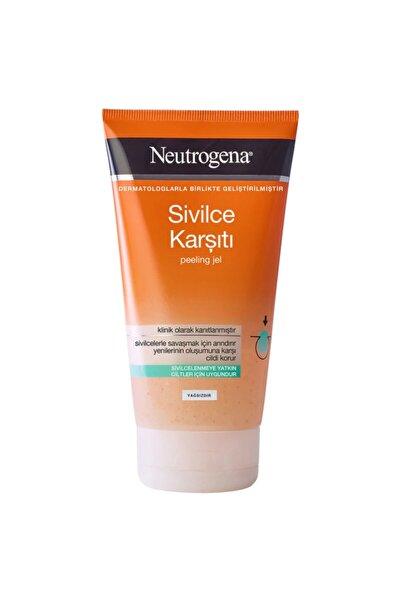Neutrogena Sivilce Karşıtı Peeling Arındırıcı Yüz Temizleme Jeli 150 Ml