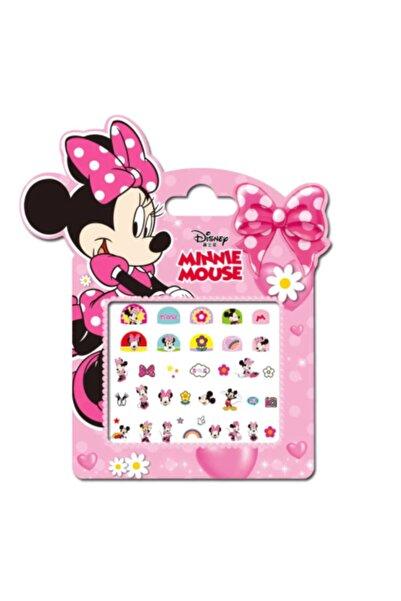 babyfoxx Minnie Mouse Dondurulmuş Makyaj Tırnak Çıkartmalar Çocuklar Için