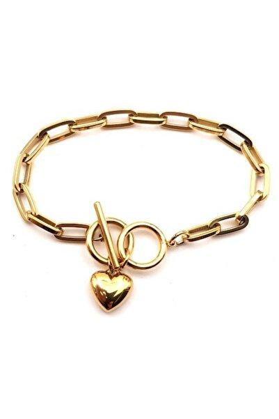Welch Kalp Zincir Kadın Çelik Bileklik