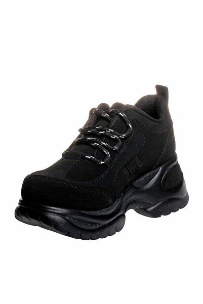 MP M.p 305k-21 Deri Fashion Dolgu Topuklu Kadın Spor Ayakkabı