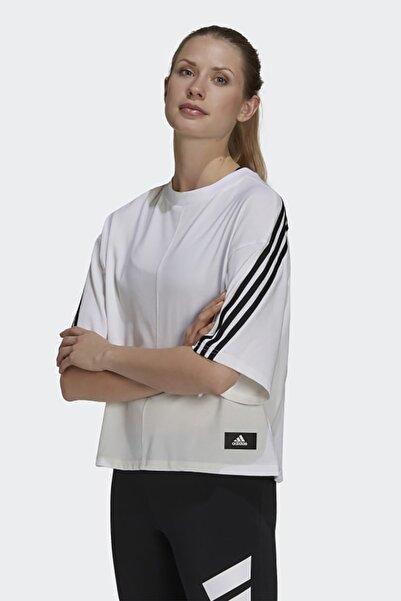 adidas Kadın Günlük T-shirt W Fi 3s Tee H39810