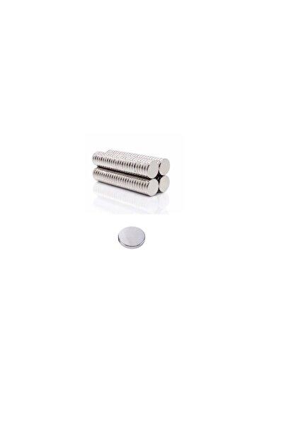 CEKSAN Neodyum Mıknatıs -güçlü Yuvarlak Mıknatıs 10x1.5mm 12 Adet