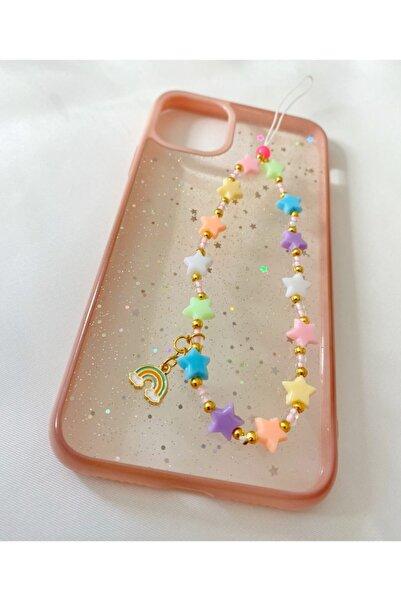 İlay Accessoire Renkli Yıldız Telefon Charmı