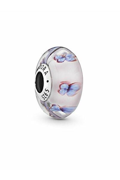 Pandora Tatlı Kelebekler Murano Cam Charm