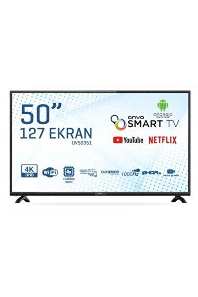"""ONVO OV50351 50"""" 127 Ekran Uydu Alıcılı 4K Ultra HD Smart LED TV"""
