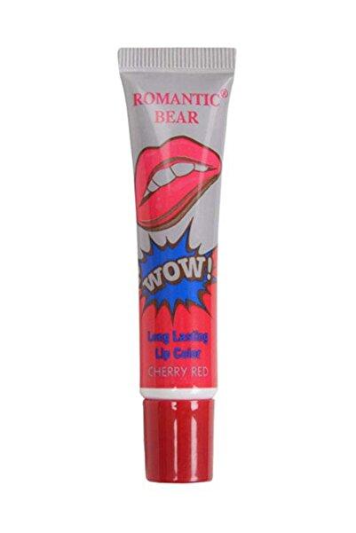 Janssen Cosmetics Romantic Bear Soyulan Ruj Cherry Red 15g 6970734250092-rb