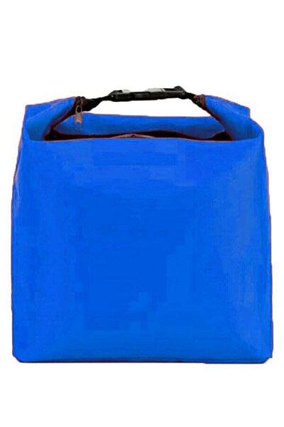 DR VE Mavi 6 Litre 25x29x8 Uzun Yol Sıcak Soğuk Korumalı Buzluk Soğutucu Piknik Kamp İlaç Çanta
