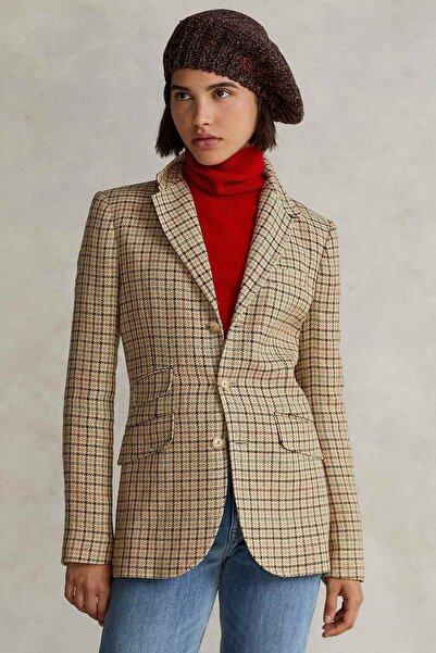 Polo Ralph Lauren Ipek Keten Keten Blazer Ceket