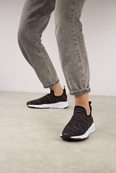 Gökhan Talay Reese Taş Detaylı Kadın Çorap Spor Ayakkabı Sneaker