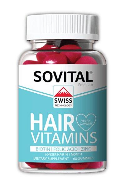 SOVITAL Hair Vitamin Isviçre Patentli Vegan Gummy - Saç Vitamini