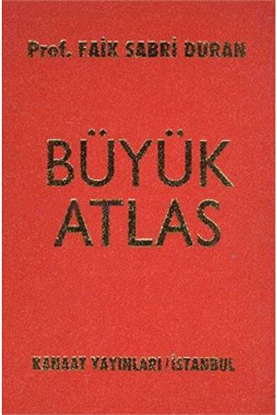 Kanaat Yayınları Kanaat Büyük Atlas Ciltli