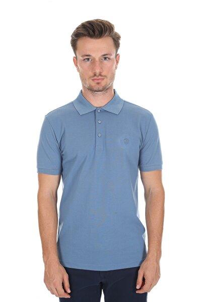 Diandor Polo Yaka Erkek T-shirt Kobalt 2117200