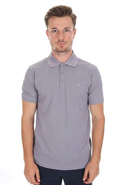 Diandor Polo Yaka Erkek T-shirt A.gri/l.grey 2117200