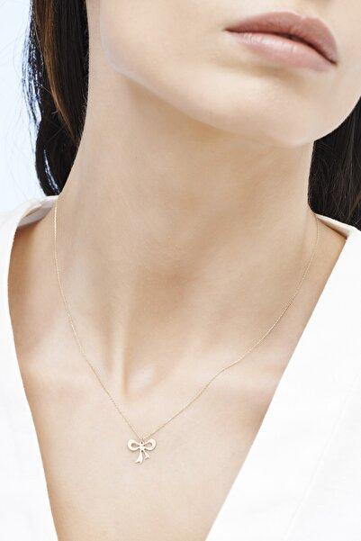 Altınbaş Kadın Altın Fiyonk Kolye KLMK7084-24754