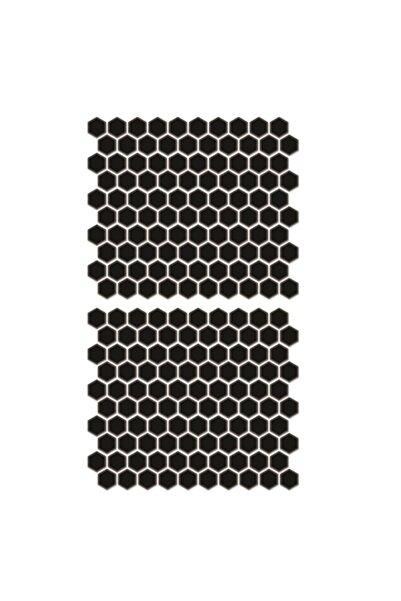 3M 200 Parça Siyah Petek Depo Yan Pad Universal Redline Grafik