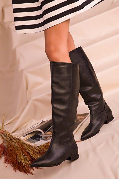 SOHO Kadın Siyah Çizme 16526