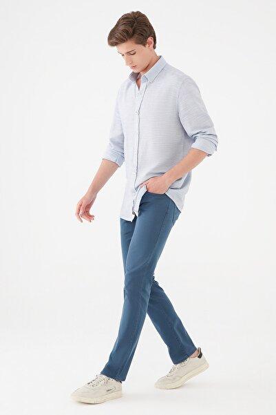 Mavi Erkek Marcus Lacivert Gabardin Pantolon 0035135225 0035135225