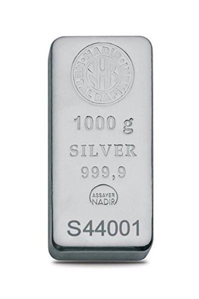 Nadir Gold Uluslararası Geçerli Sertifikalı Faturalı 999.9 Saf Külçe Gümüş
