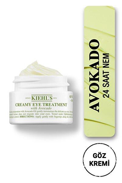 Kiehl's Creamy Eye Treatment Avokado Ile Yoğun Nemlendiren Göz Kremi 14 ml