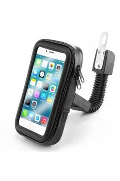 POPÜLER CEP Telefon Tutacağı Motorsiklet 5-6.0 Inc Uyumlu Su Geçirmez Aynaya Montaj Hd2959