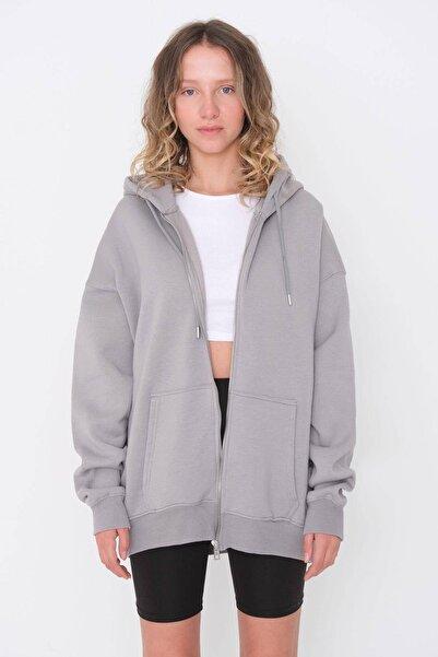 Addax Fermuarlı Sweatshirt H9476 - G12v3