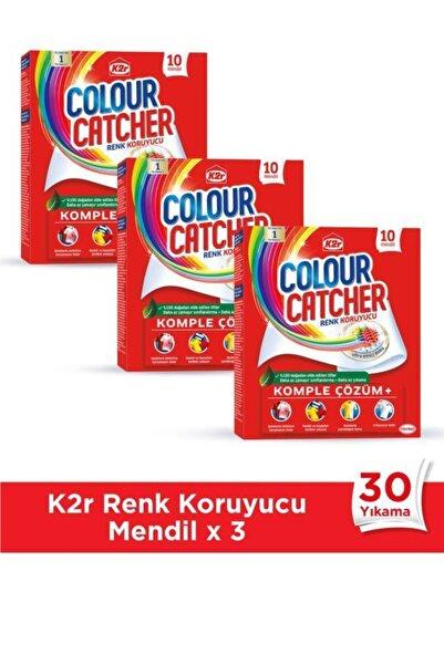 K2R Renk Koruyucu Mendil 3 x 10'lu Paket (30 Yıkama)