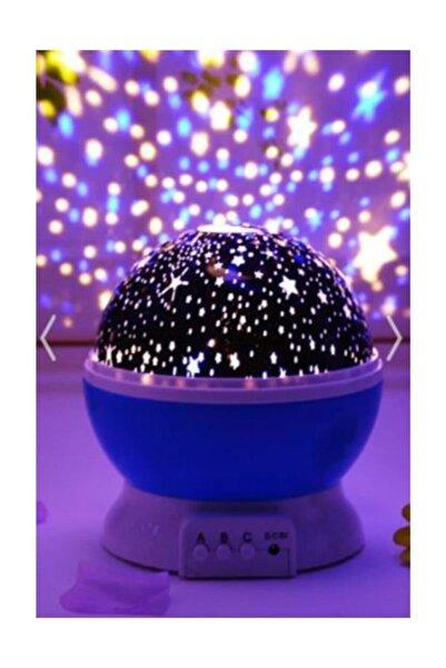 ELBA Star Master Renkli Yıldızlı Gökyüzü Projeksiyon Gece Lambası - Mavi