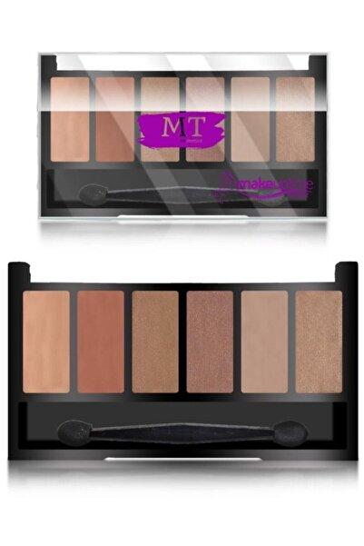 Makeuptime Mt 6'lı Far Paleti No 3