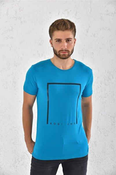 Rodi Erkek Suprem Düz Baskılı T-shirt Rd21ye270004