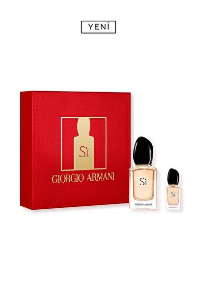 Giorgio Armani Si Edp Kadın Parfüm Seti 30 ml 3614273613545