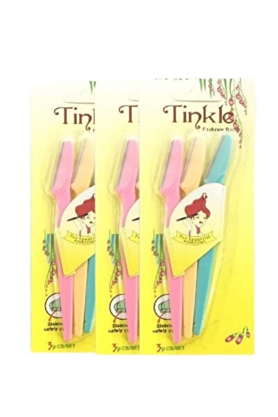 Tinkle Kaş Usturası 3 Adet