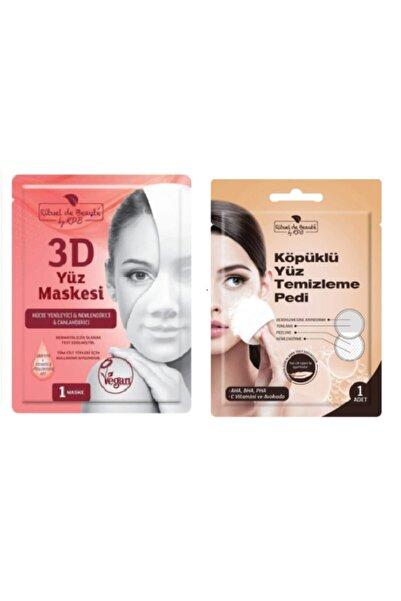 Rituel De Beaute Peeling Etkili Yüz Temizleme Pedi & Hücre Yenileyici Ve Canlandırıcı 3d Maske